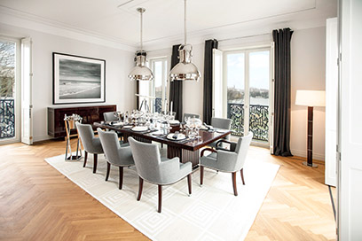 Harperu0027s Bazaar Berichtet über Alstervilla Penthouse Exclusively Furnished  In Ralph Lauren Home . Made By FRANKONIA